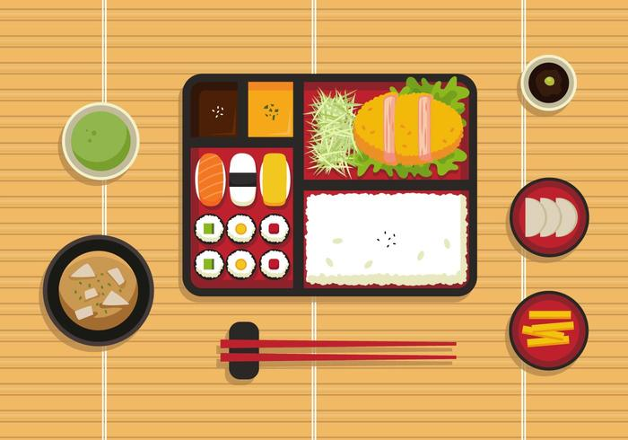 bento box illustration