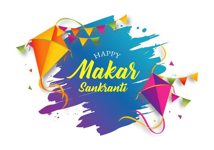 Illustration de Makar Sankranti