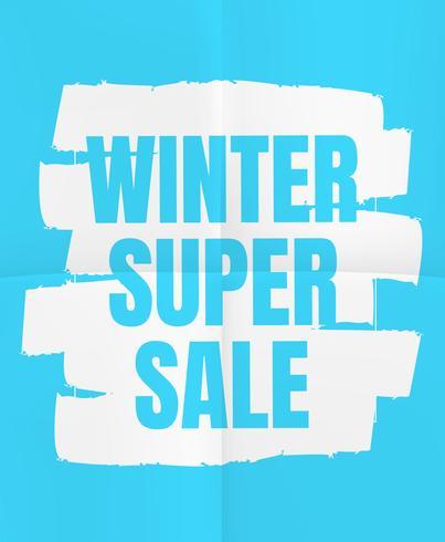 Super venta de invierno