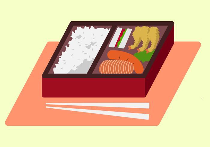 Vecteurs Bento Box Délicieux