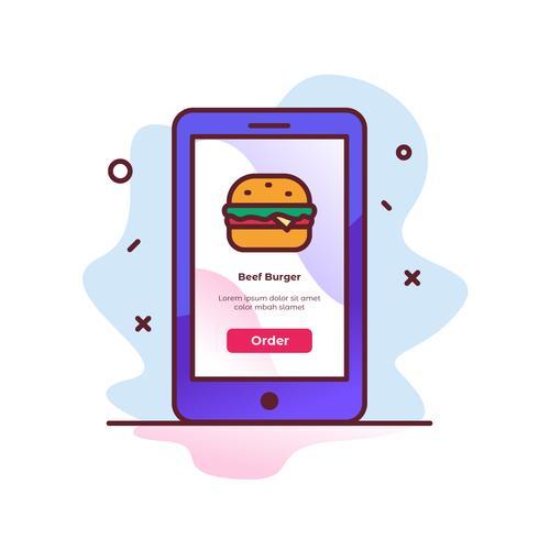 Burger Commande en ligne