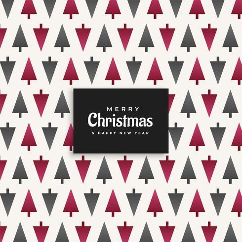 Fondo de diseño de patrón de árbol de Navidad