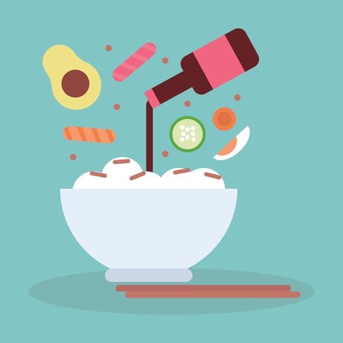Ingredientes Poke Bowl