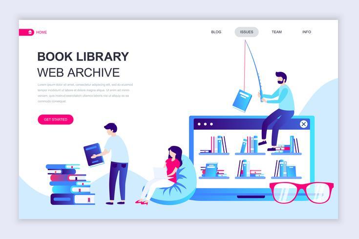 Bannière Web de la bibliothèque du livre