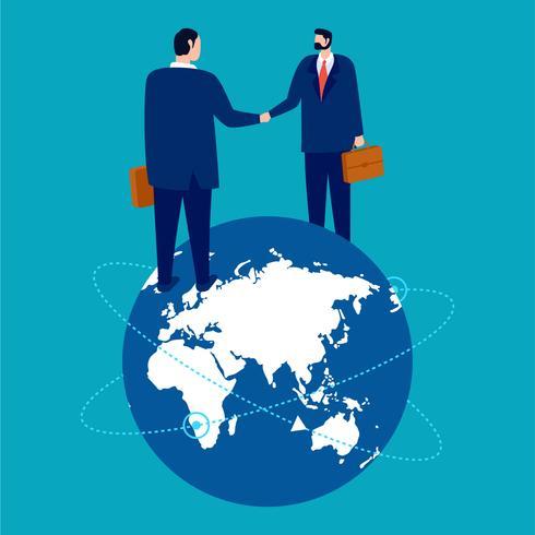 commerce international vecteur