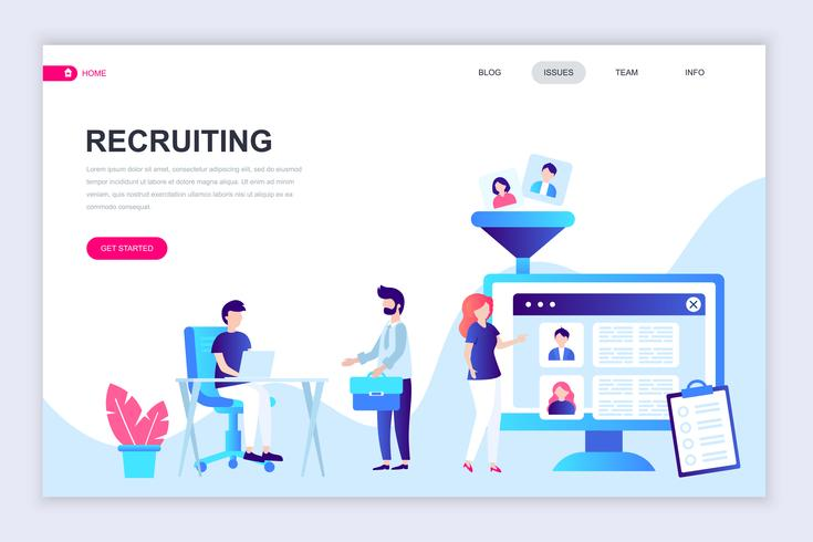 Recruiting Web Banner