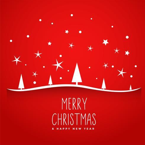 geweldige rode vrolijke kerstboomachtergrond