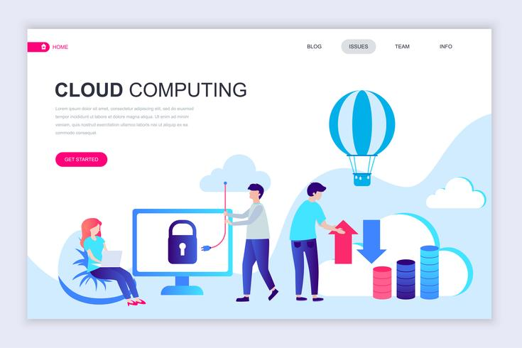 Banner Web tecnologia cloud
