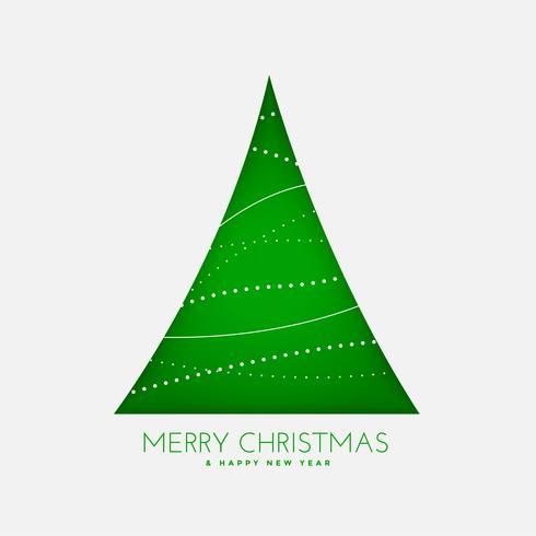 fond de décoration de sapin de Noël vert