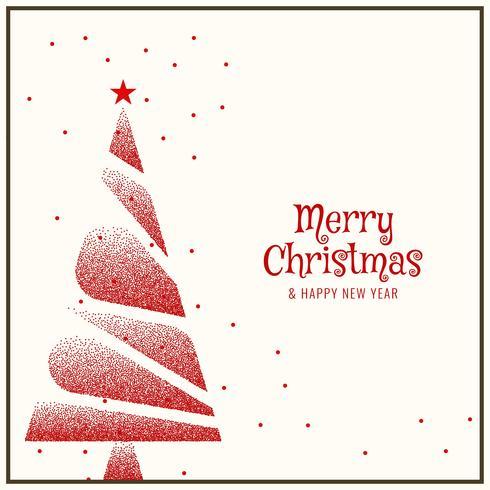 Abstrakter dekorativer Hintergrund der frohen Weihnachten vektor