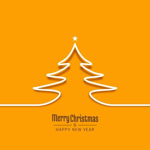 Abstrakt Merry Christmas celebration bakgrundsdesign