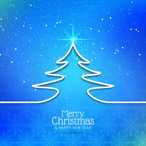 Abstracto hermoso festival de feliz navidad de fondo
