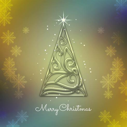 Fondo elegante decorativo abstracto de la Feliz Navidad