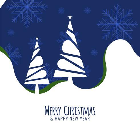 Abstrakt Merry Christmas celebration hälsning bakgrund vektor