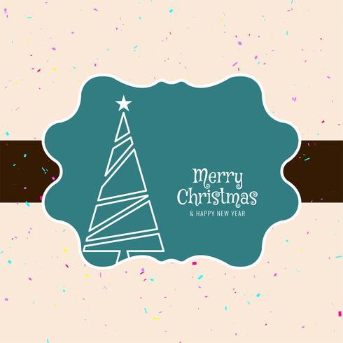 Abstrait festival coloré joyeux Noël