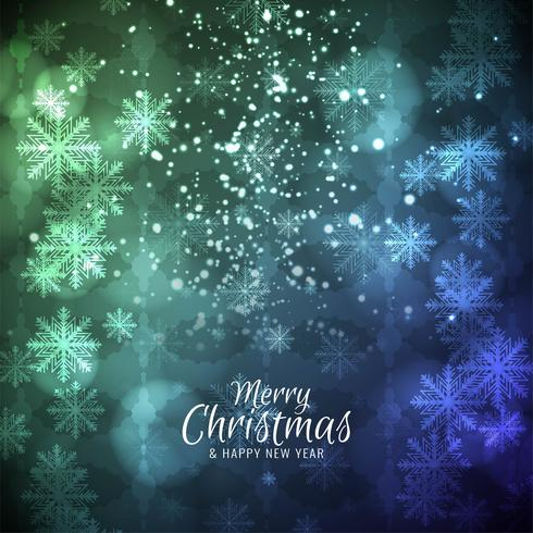 Fundo de celebração abstrata linda feliz Natal