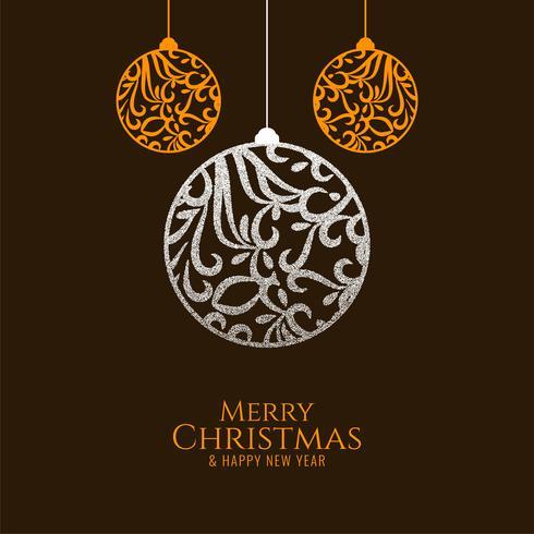 Fond décoratif abstrait joyeux Noël