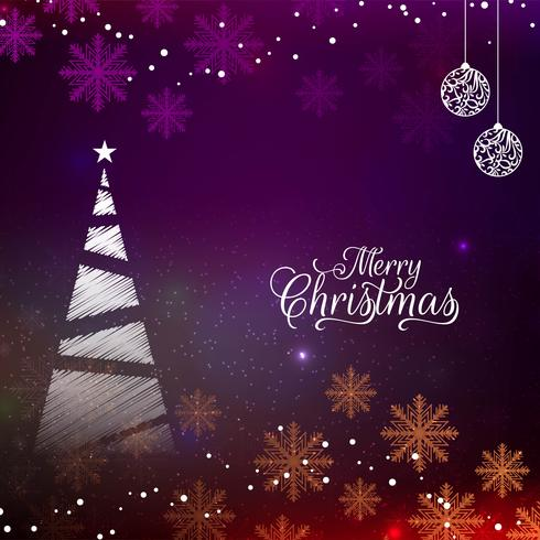 Abstract Merry Christmas colorful festival background