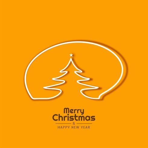 Abstracte Merry Christmas elegante achtergrond vector