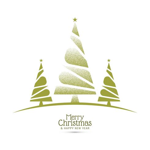 Abstract Merry Christmas celebration greeting background vector
