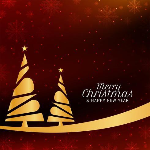 Abstrakt God jul dekorativ bakgrund vektor