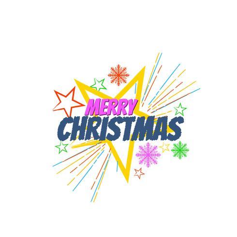 Fundo de celebração feliz Natal festival vetor