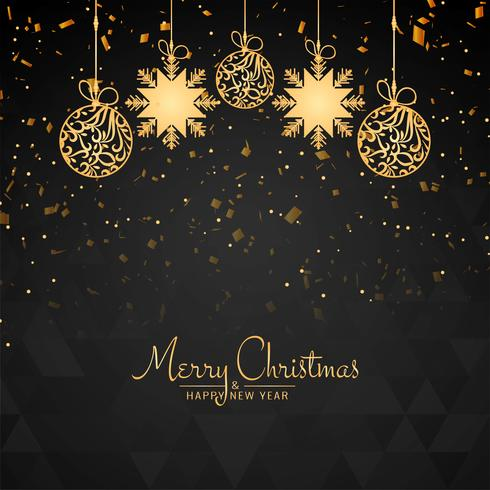 Fondo decorativo hermoso abstracto de feliz Navidad