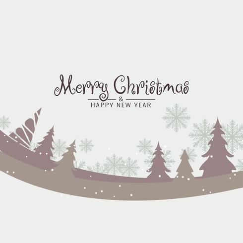 Abstracte Merry Christmas stijlvolle decoratieve achtergrond