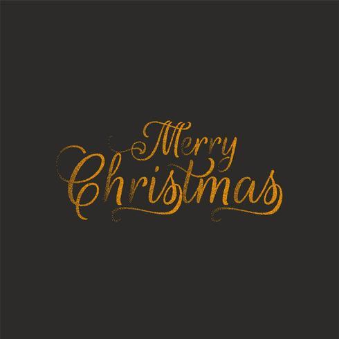 Disegno astratto del testo punteggiato di Buon Natale
