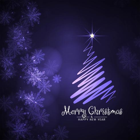 Abstrakt Merry Christmas stilig dekorativ bakgrund