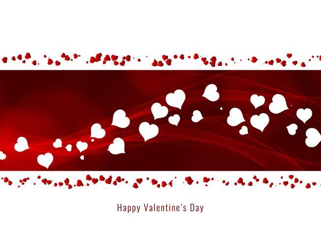 Abstrakt Glad Alla hjärtans dag elegant stilig bakgrund