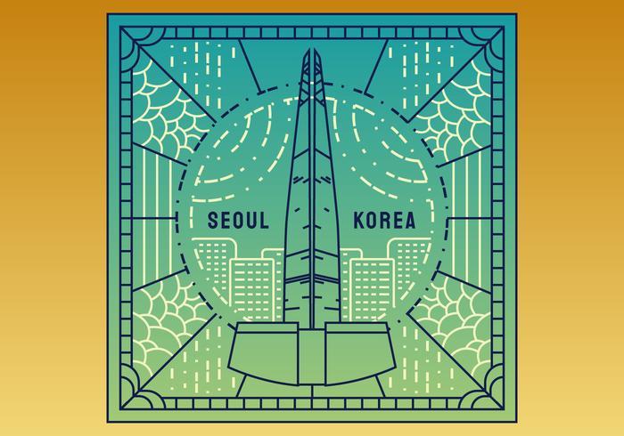 Vectores sobresalientes de Seúl