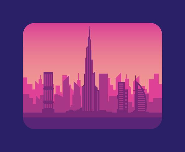 Dubai-Abbildung