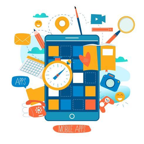 Mobil applikationsutvecklingsprocess