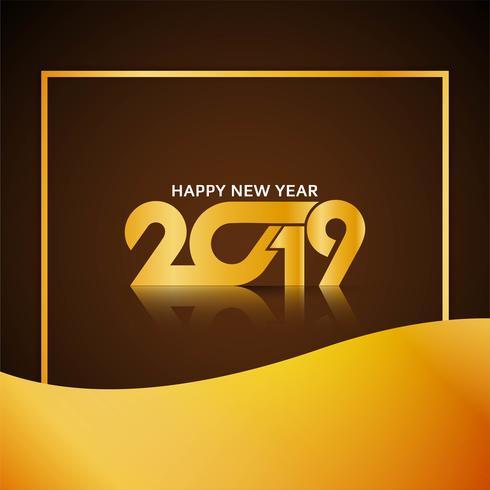 Priorità bassa moderna di celebrazione di nuovo anno 2019