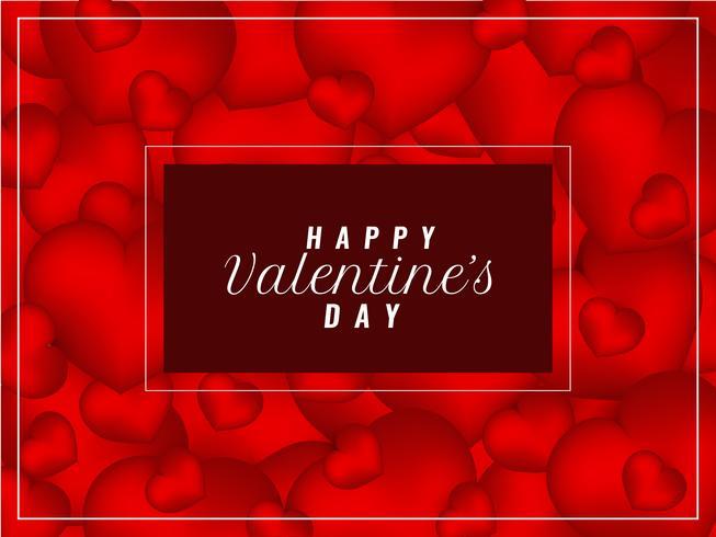 Abstract Happy Valentine's Day elegant stylish background vector