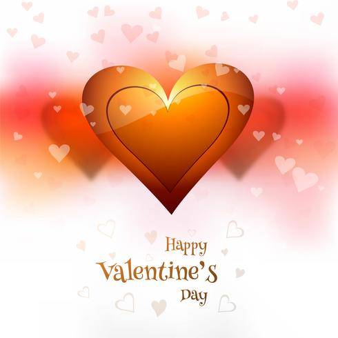 Van de dag kleurrijke harten van valentijnskaarten illustratieillustratie