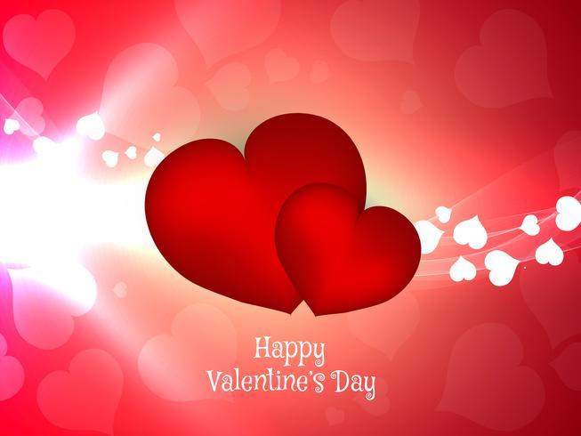 Abstrakt Glad Valentinsdag bakgrund vektor