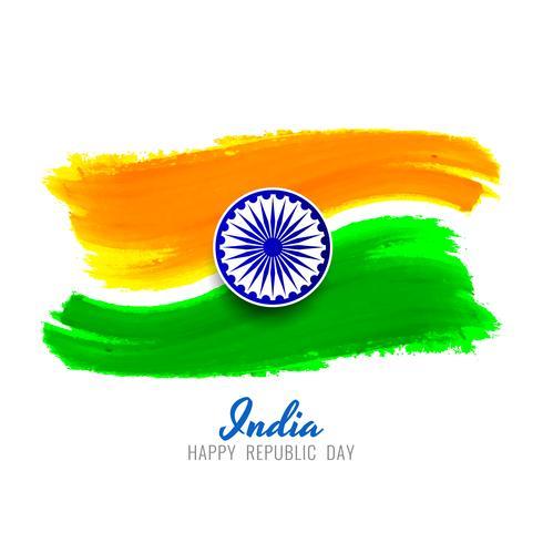 Abstrakt indisk flagg tema elegant design bakgrund