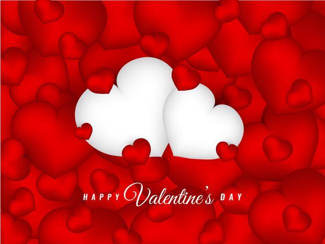 Beau fond abstrait Saint Valentin