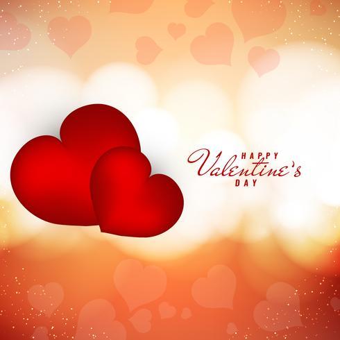 Abstracte gelukkige Valentijnsdag elegante stijlvolle achtergrond