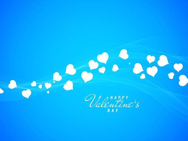 Abstracte Happy Valentine's Day begroeting achtergrond