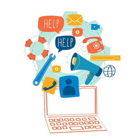 Kundenservice, Kundendienst vektor