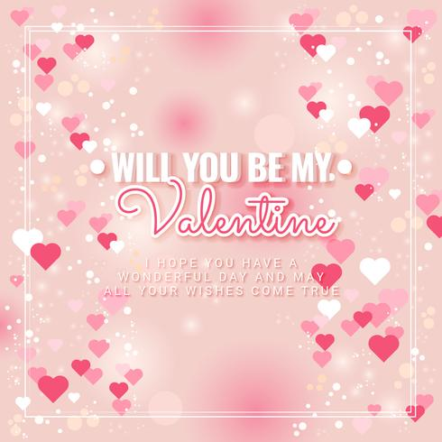 Vector Valentine's Day Frame - Download Free Vector Art