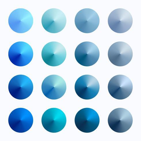 isiga koniska vektorgradientfärger
