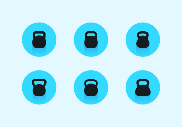 Kettle Bell Free Vector Pack