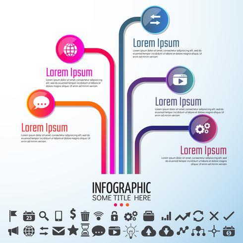 Elementos de diseño de infografías