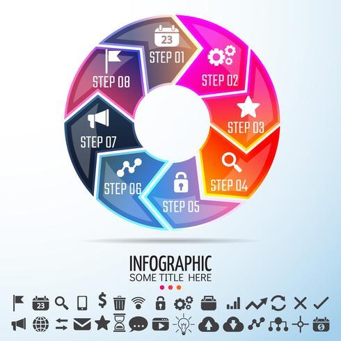 Elementi di design di infografica