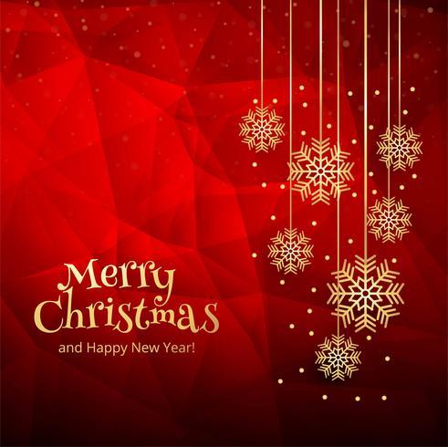 Fondo hermoso de la tarjeta de la celebración de la Feliz Navidad