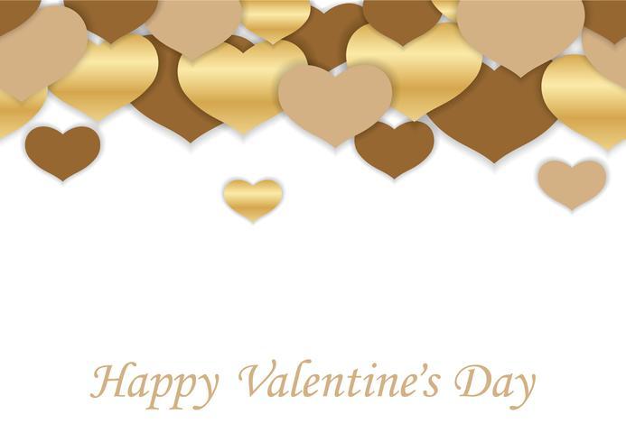 San Valentino sfondo vettoriale senza soluzione di continuità.